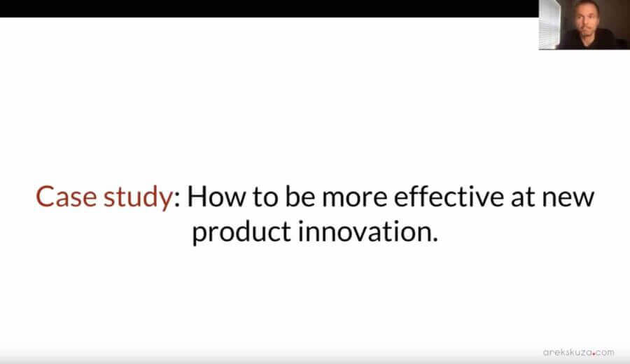 Product innovation with startups