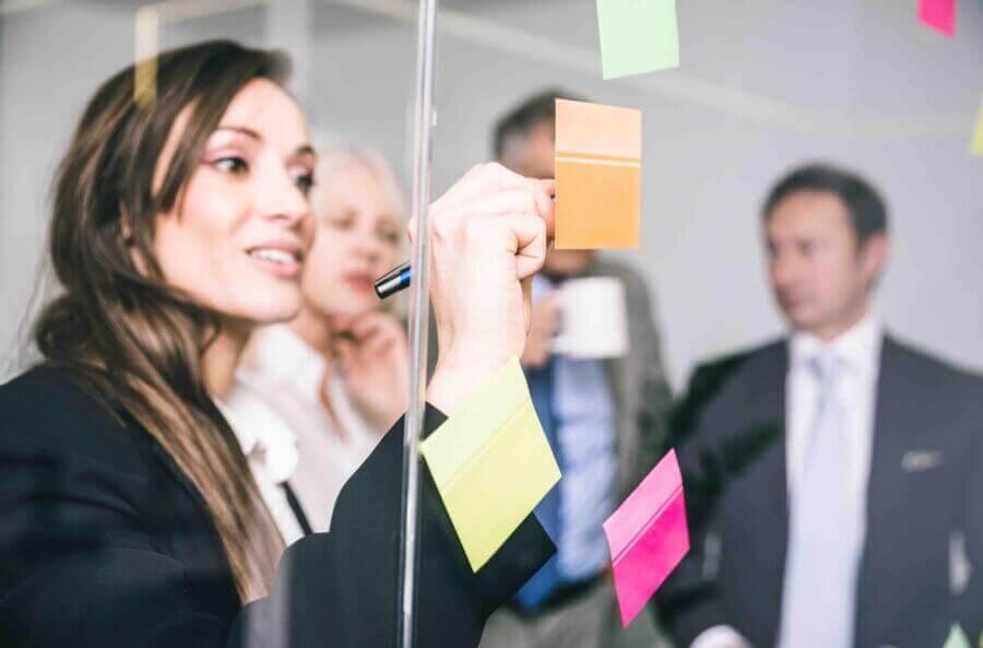Business-people-having-innovation-workshop