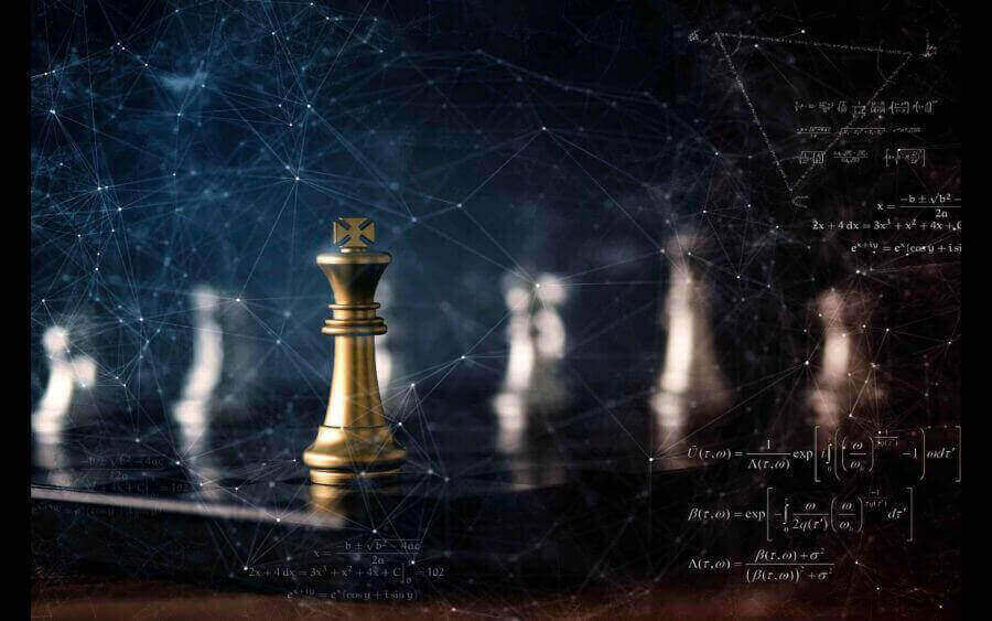 Startegy moves - chess - digital - connection