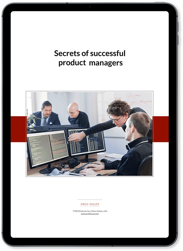 Secrets of successful product managers -- ebook -- Skuza Consutling