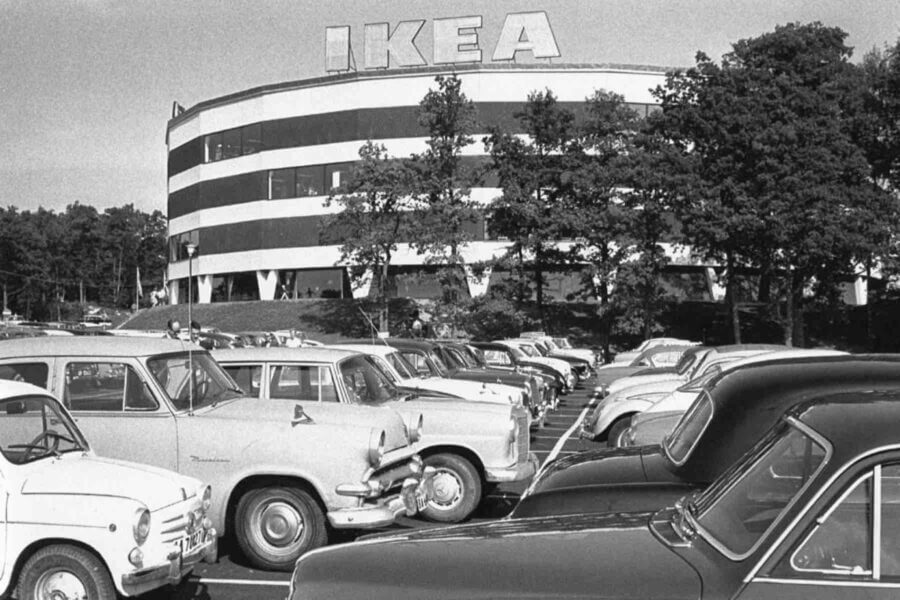 First IKEA store, which was considered as one of the most innovative at that times in retail industry