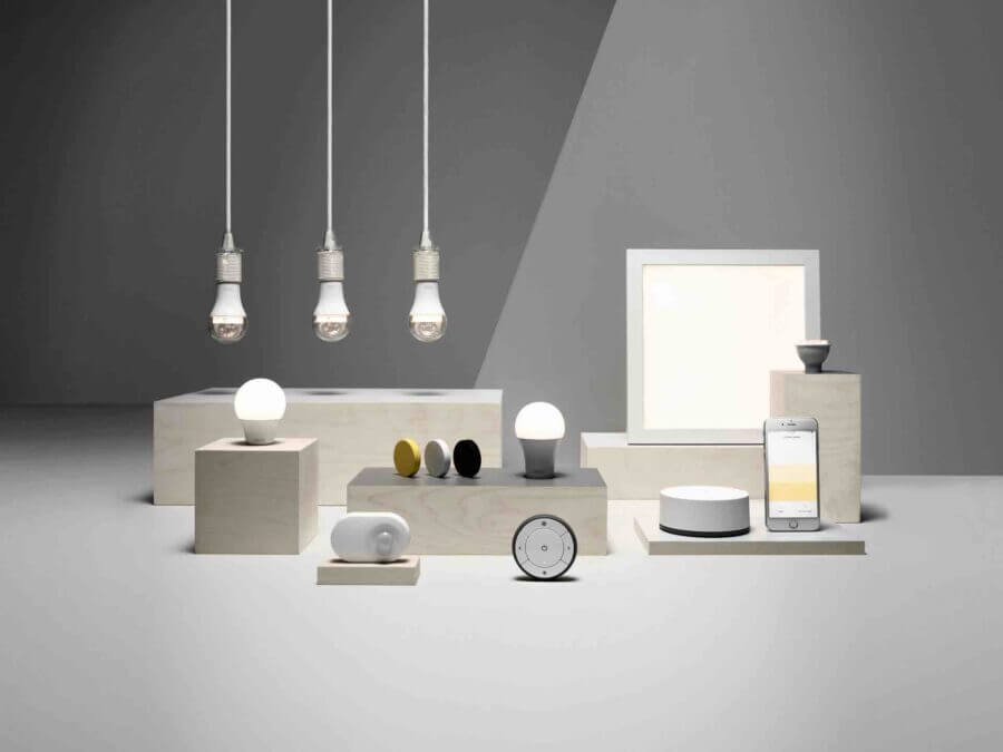 Smart bulbs, thermostats, cameras and other devices launched by IKEA via the company innovative strategy.