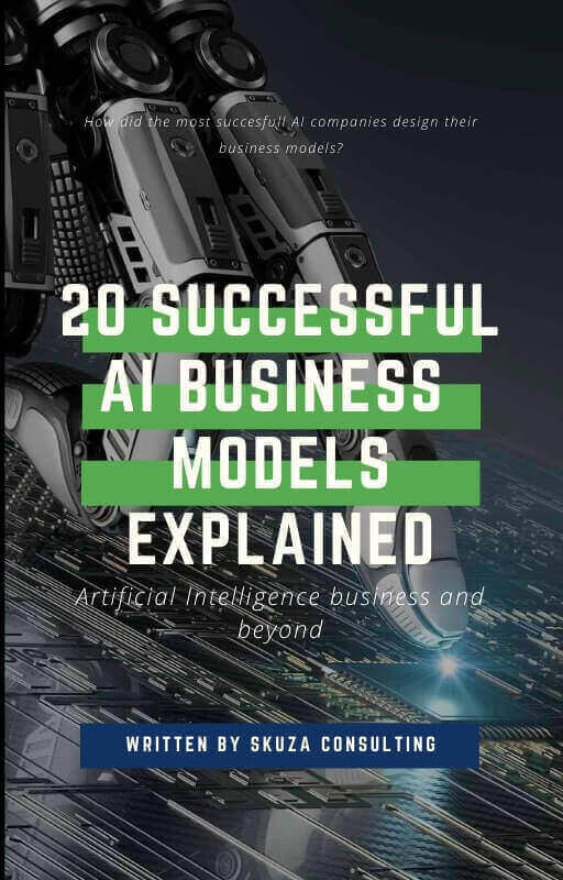 eBook 20 successful AI business models explained cover