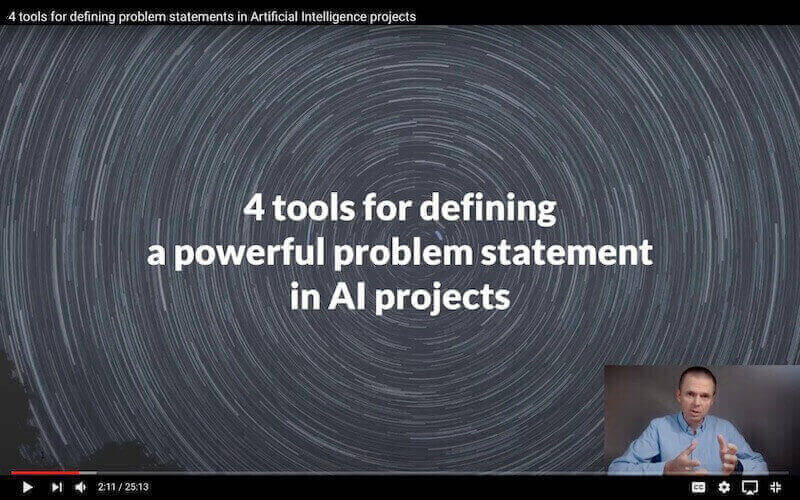 How to design powerful problem statement in artificial intelligence projects