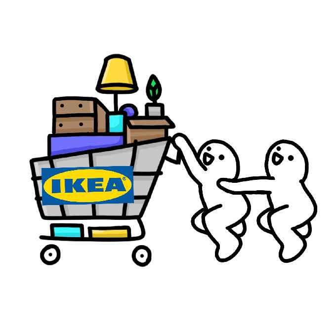 IKEA Venmo sticker
